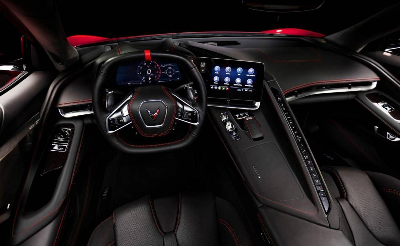 If this is the 2020 Corvette C8 dashboard then we have ...