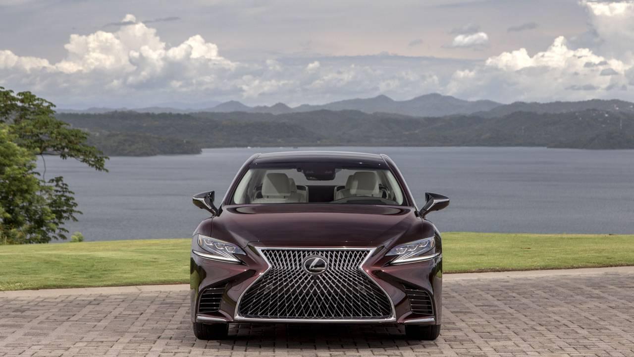 2020 Lexus LS 500 Inspiration Series lands this fall in Deep Garnet paint