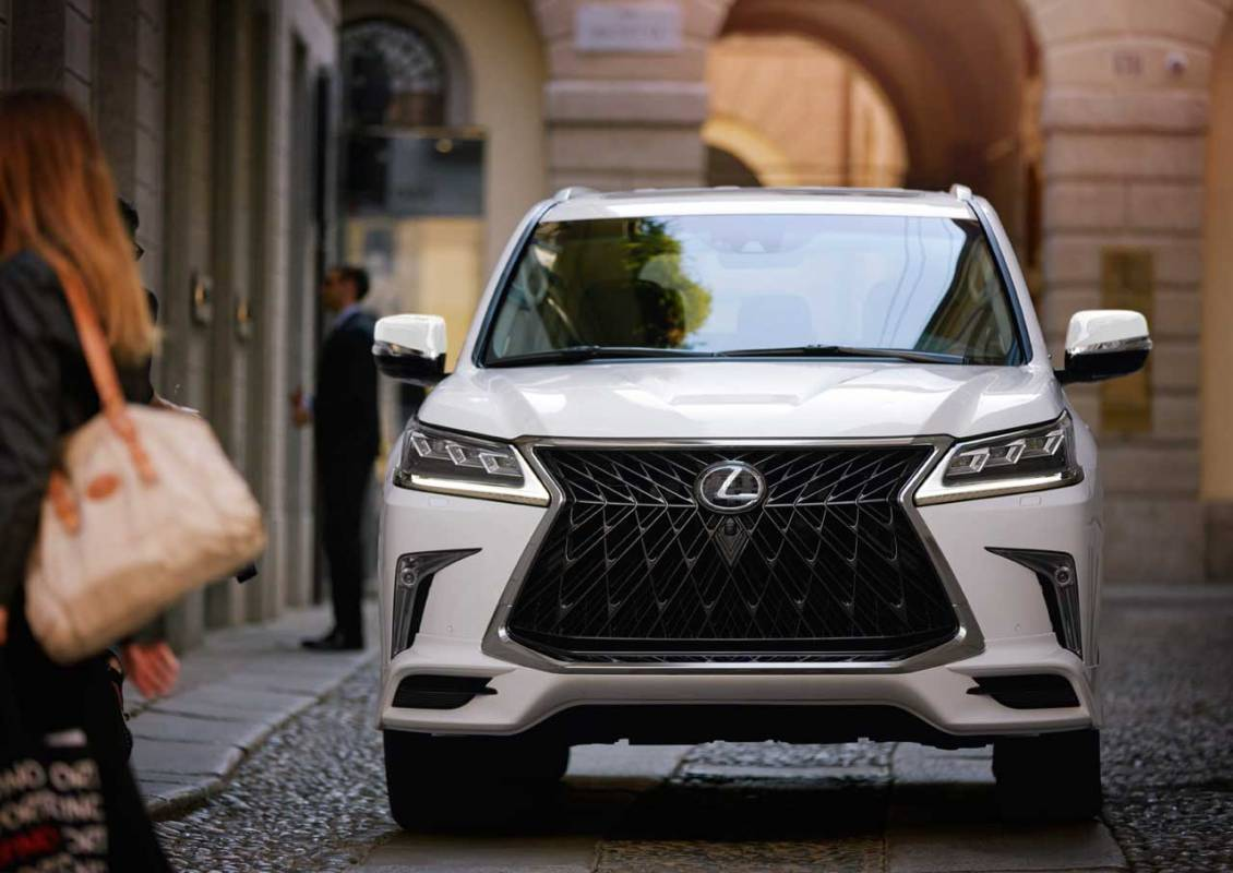 2020 Lexus Lx 570 Sport Package Brings New Style Inside