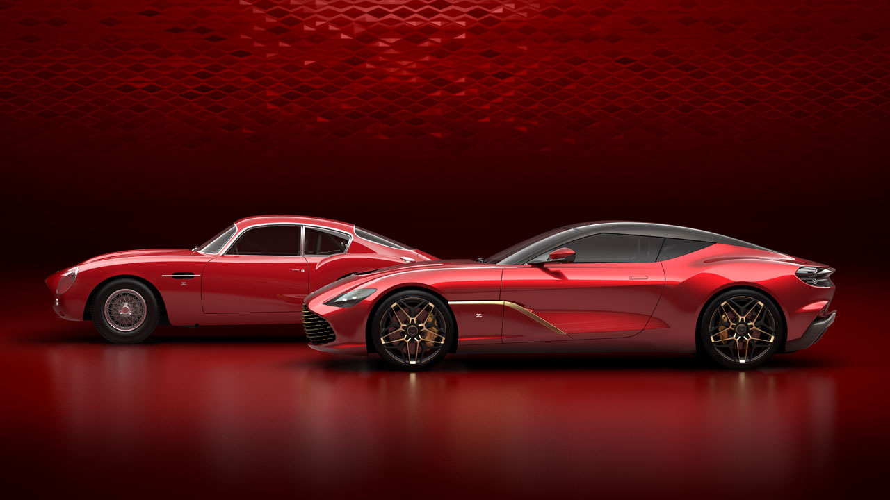 Aston Martin DBS GT Zagato detailed in new photos