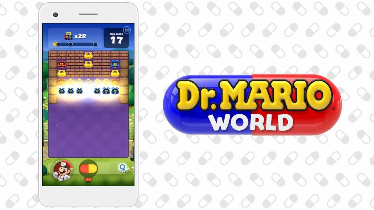 Dr. Mario World lands on iOS and Android a day early