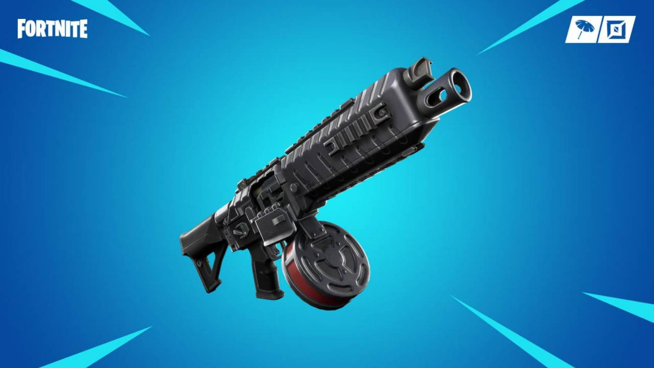 Fortnite patch notes detail Drum Shotgun at long last