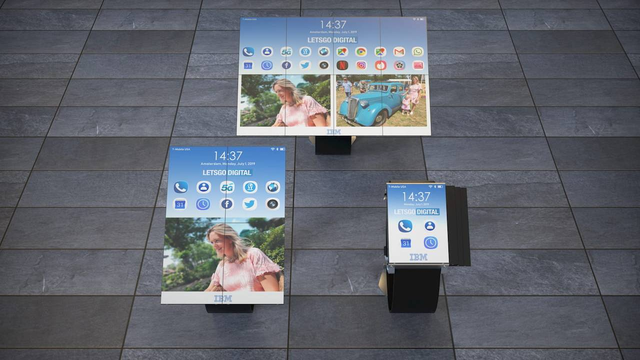 IBM smartwatch patent is a tech origami of unfolding screens