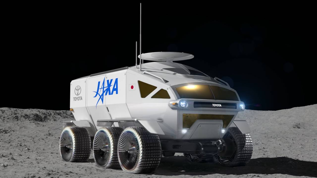 Toyota and JAXA team on a fuel-cell Moon rover for 2029