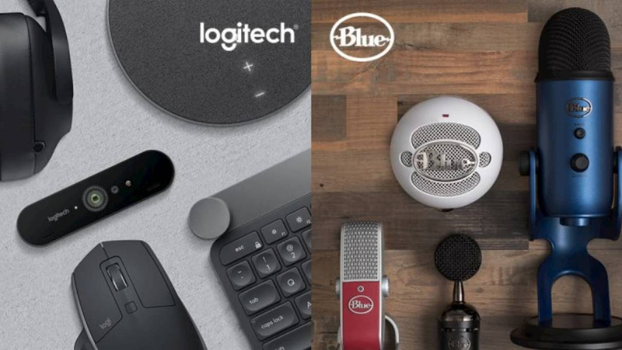 Logitech teases a gaming headphone team up with Blue