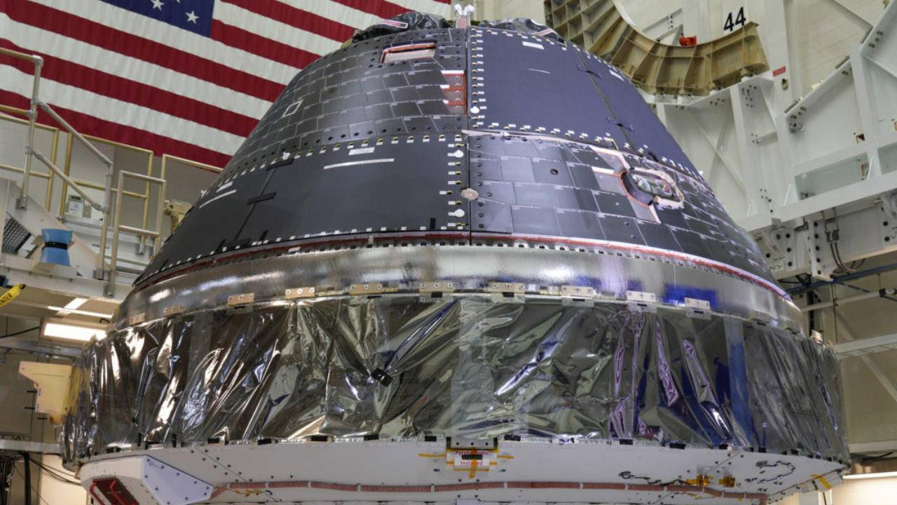 NASA Orion spacecraft's crew module is ready for the next moon landing