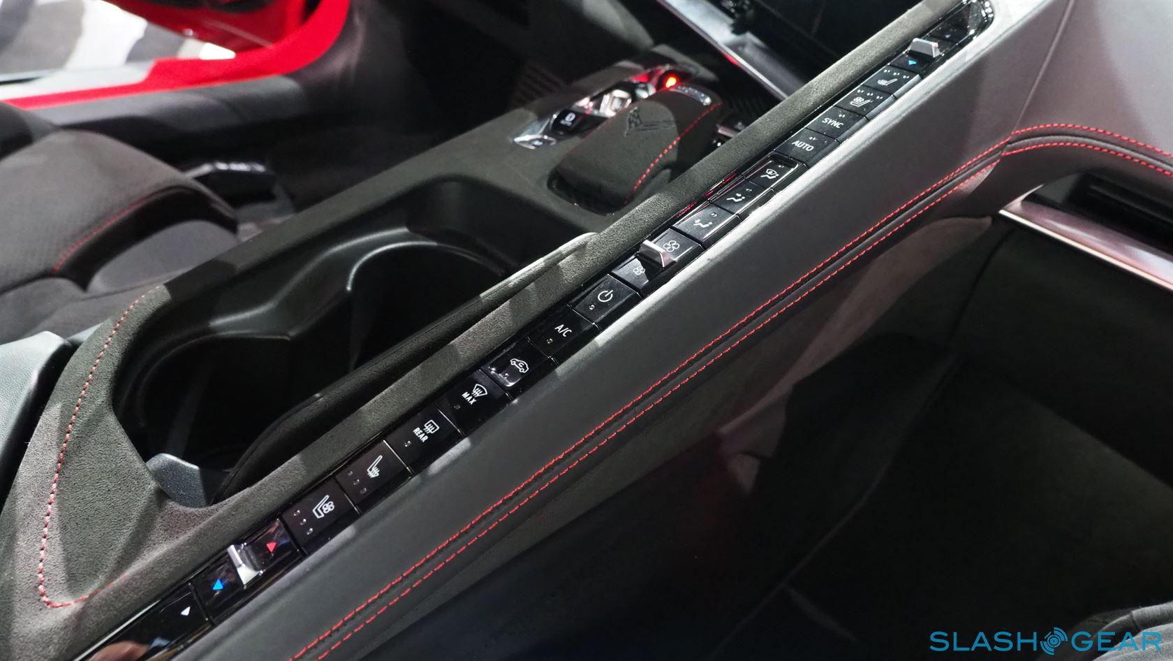 2020 Chevrolet Corvette Stingray C8 Interior Review: Cabin ...