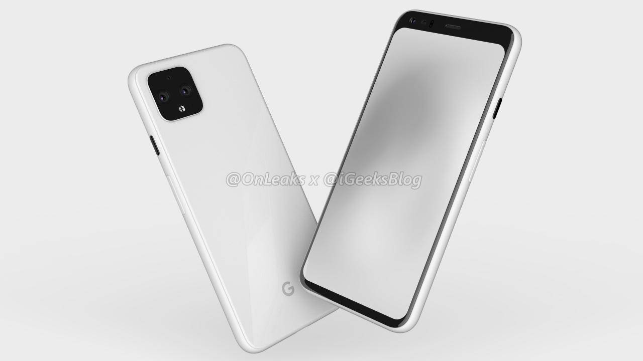 Pixel 4 renders point to another controversial design element
