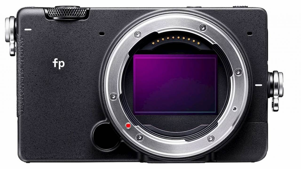 Sigma fp packs a full-frame mirrorless camera in a tiny footprint