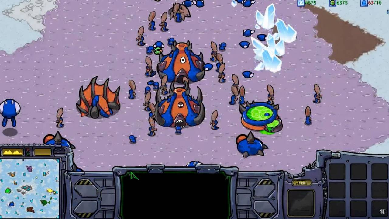 StarCraft: Cartooned puts an animated twist on an RTS classic
