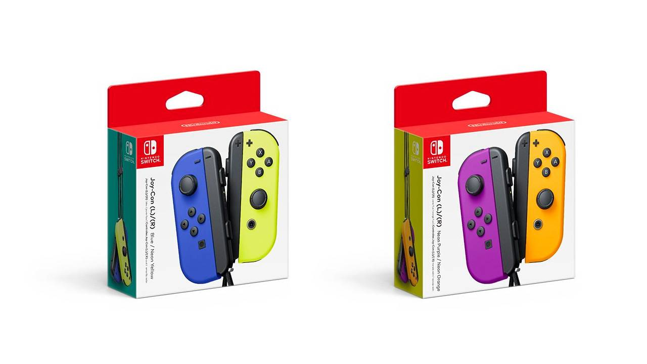 These new Switch Joy-Con color combos are perfect for fall