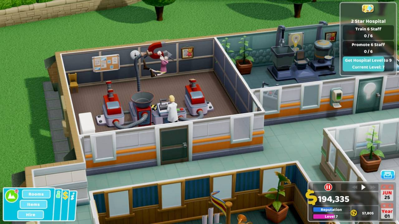 Two Point Hospital is getting a console release later this year