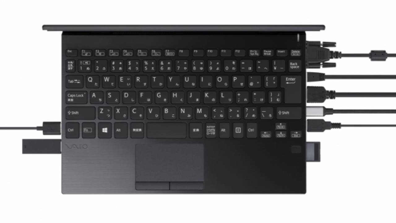 VAIO SX12 ultrabook packs every port you'll ever need