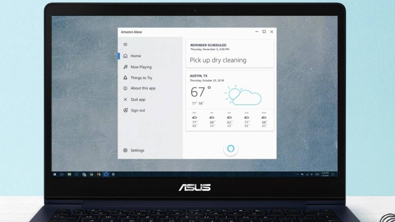 Windows 10 will let Amazon Alexa and others work on lock screens