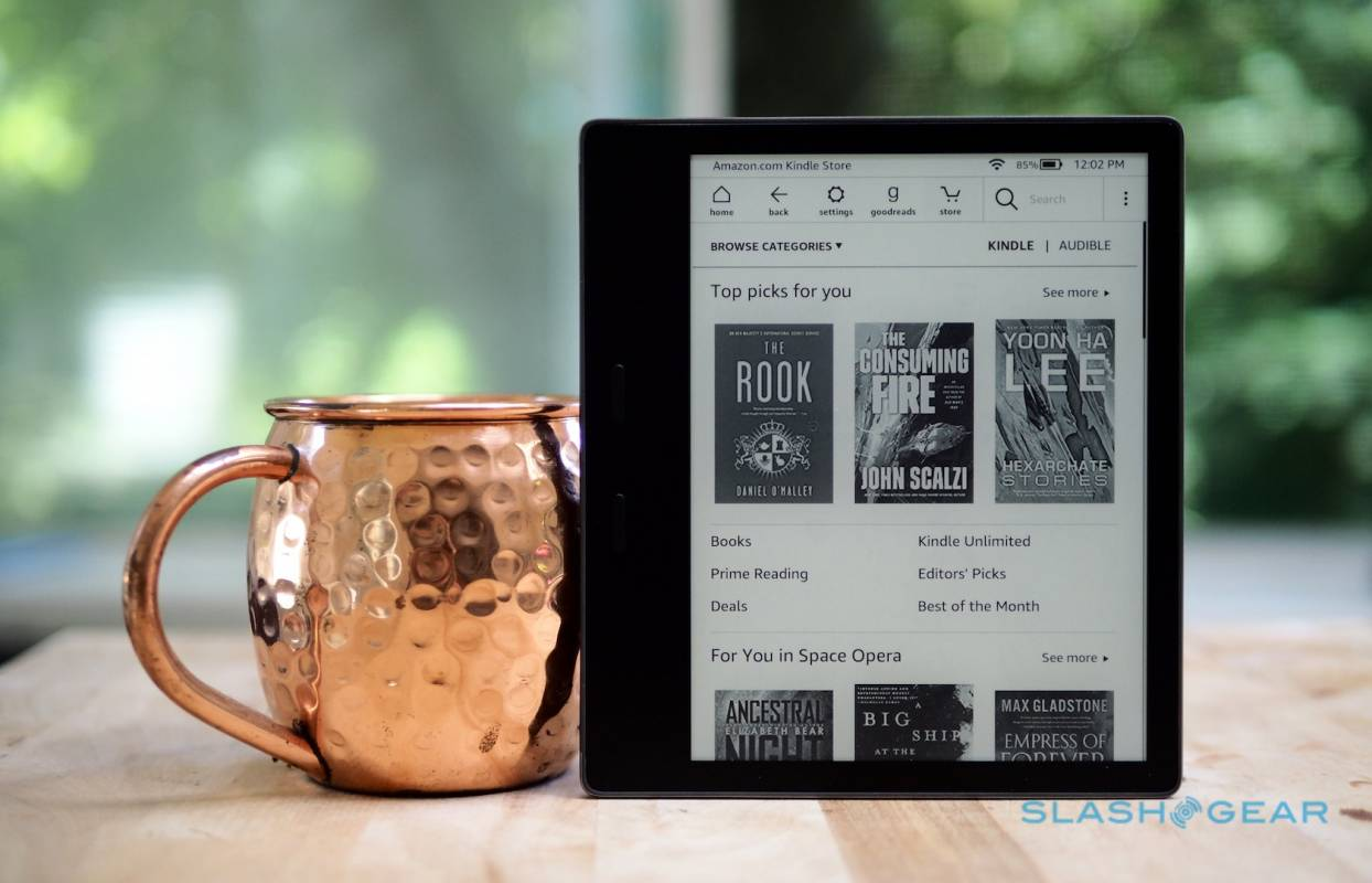 Amazon Kindle Oasis Review (2019): An ereader you'll warm to - SlashGear