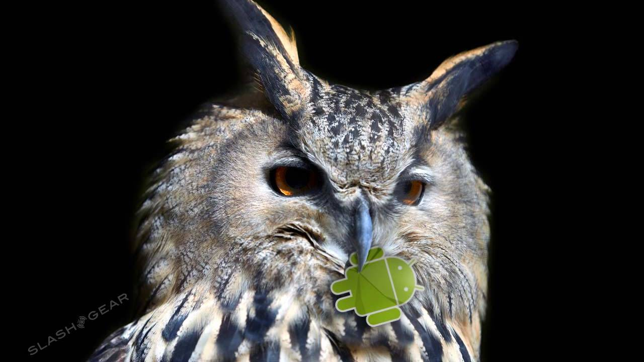 Android update fixes night owls' worst enemy
