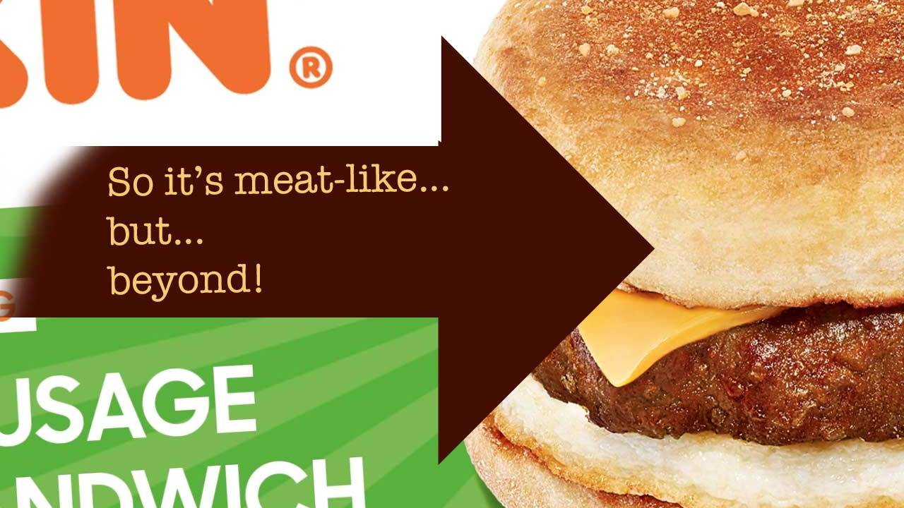 Beyond Meat: Dunkin, Chipotle, and a new fake bacon