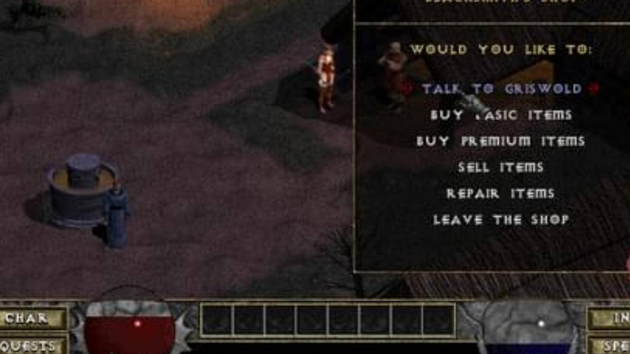You can now play the original Diablo game on web browsers