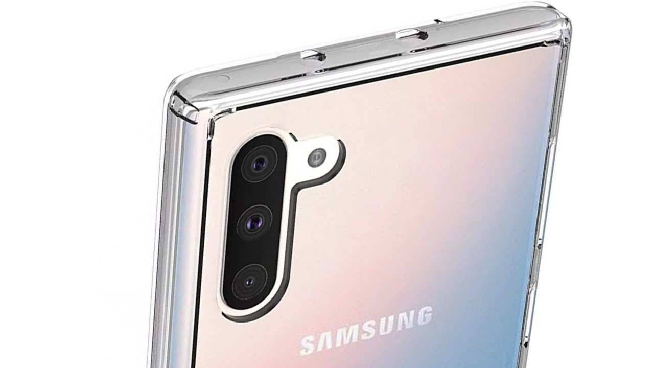 Galaxy Note 10 renders make you forget about the hole