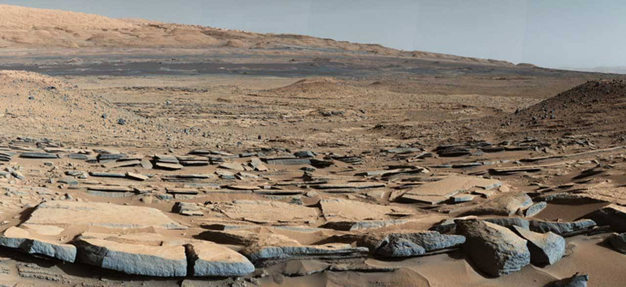 Research suggests Mars' Gale Crater could have supported life