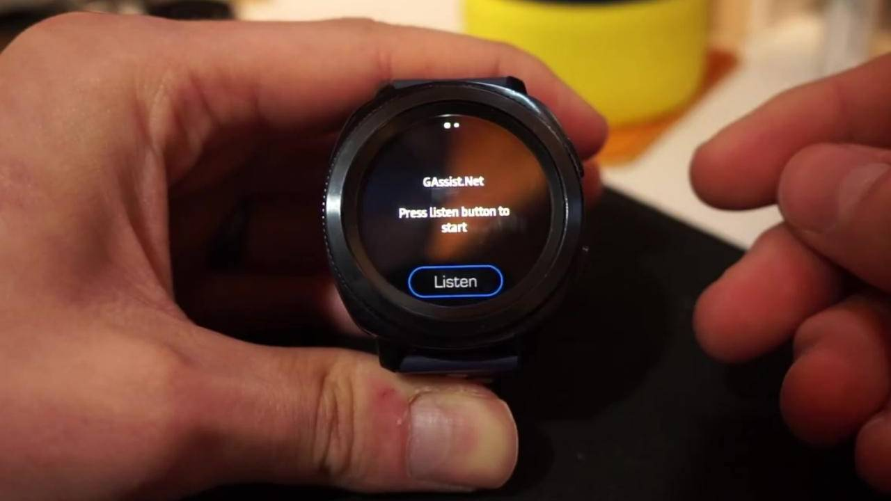 GAssist app gives Galaxy Watches a taste of Google Assistant