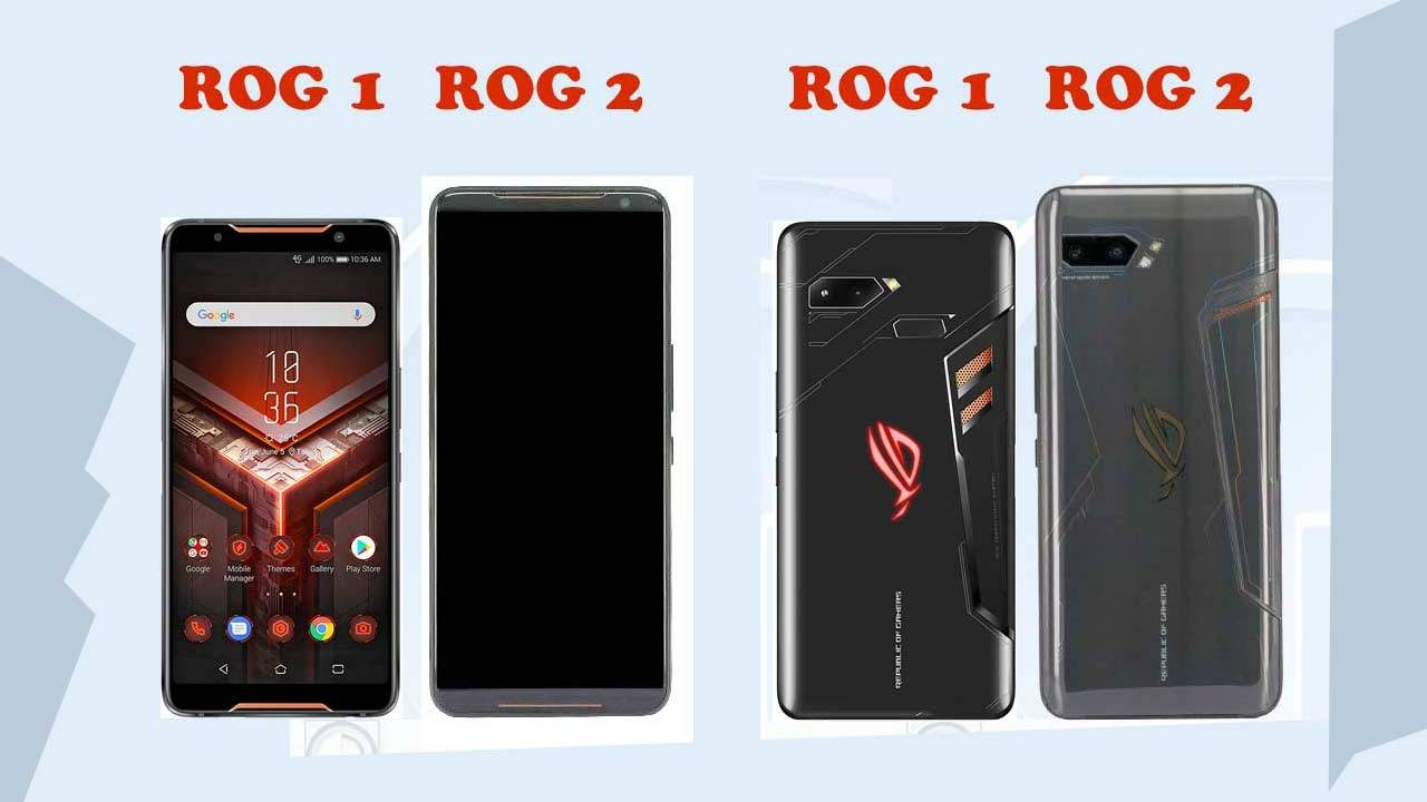 ASUS ROG Phone 2 pictured, thicker and taller than any other