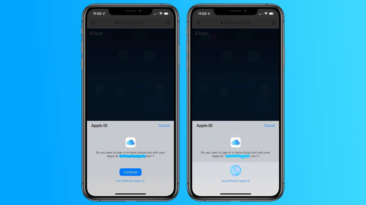 iCloud on the Web will soon allow Face ID and Touch ID sign-ins