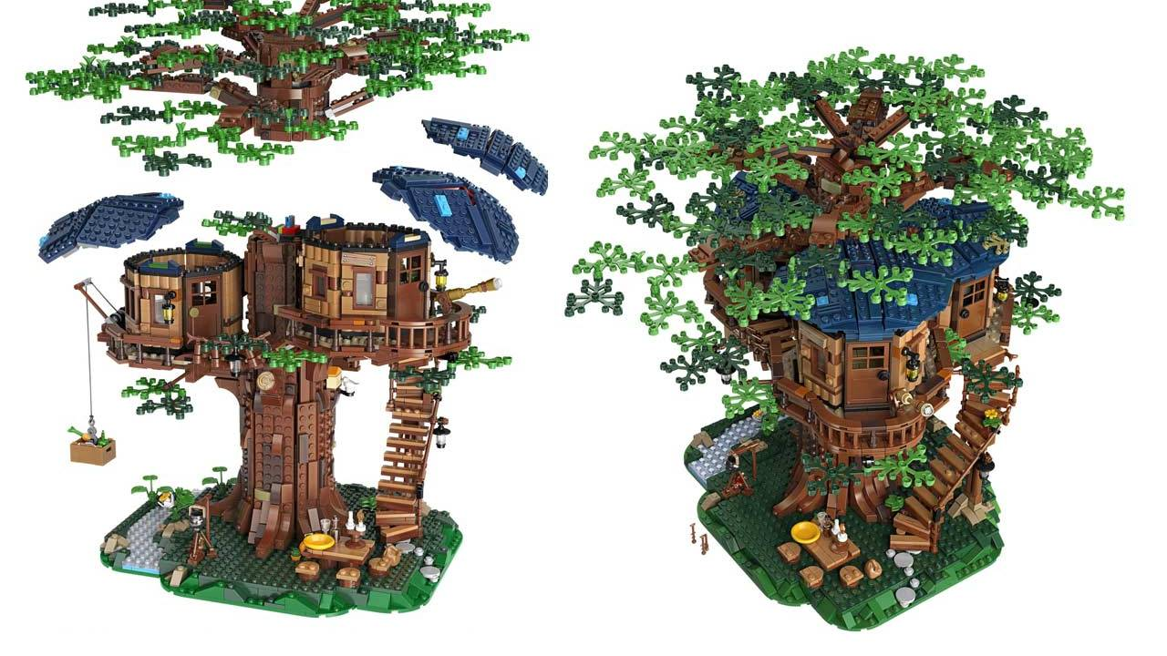 LEGO Treehouse's plant bricks are all plant-based