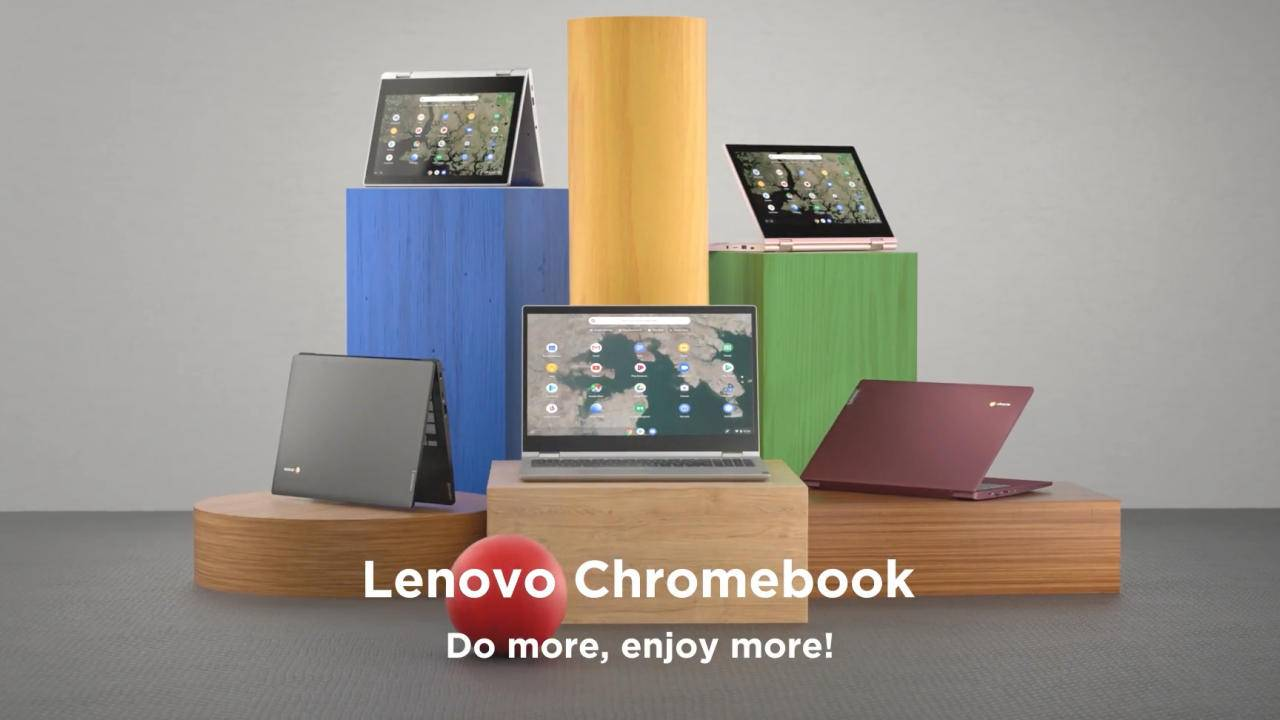 Lenovo has three new Chromebooks coming soon
