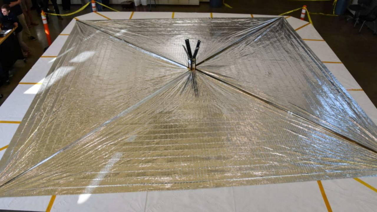 LightSail 2 spacecraft successfully deploys solar sail