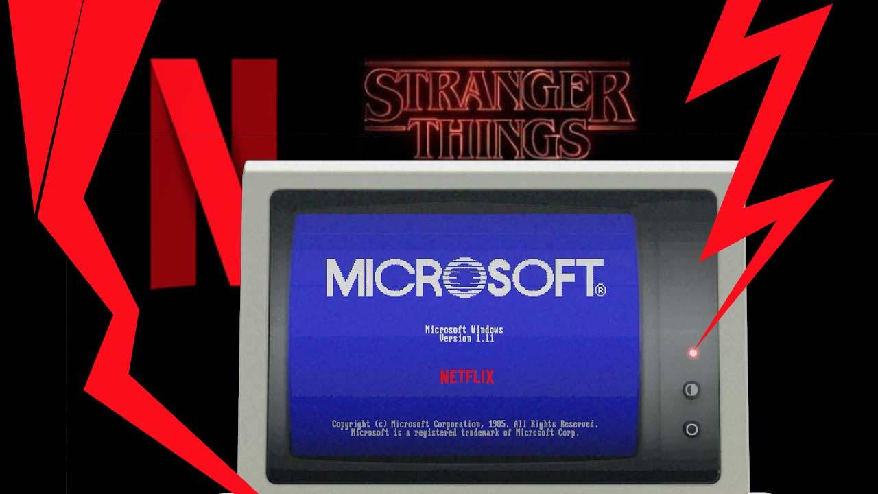 Here's the big Stranger Things Microsoft Windows twist
