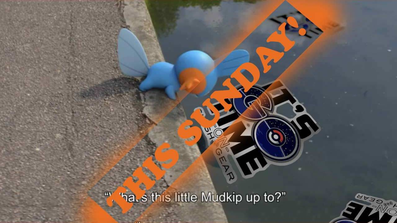 Pokemon GO Shiny Mudkip info and best guide to catch