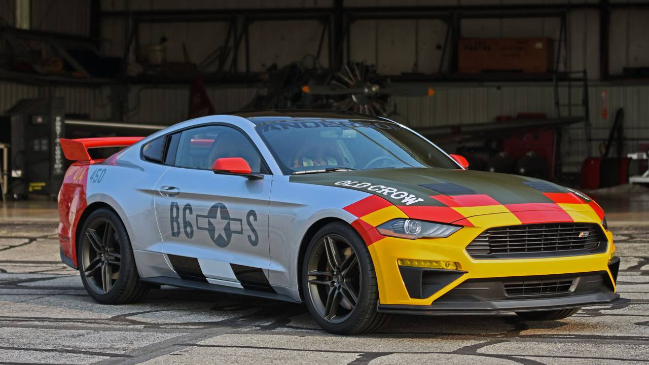 Ford and Roush create Old Crow Mustang for charity