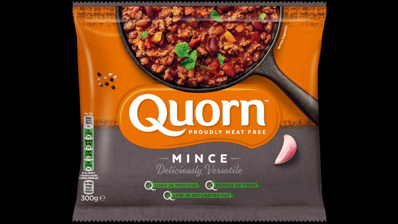 Quorn vegan protein may be better than milk for building muscle