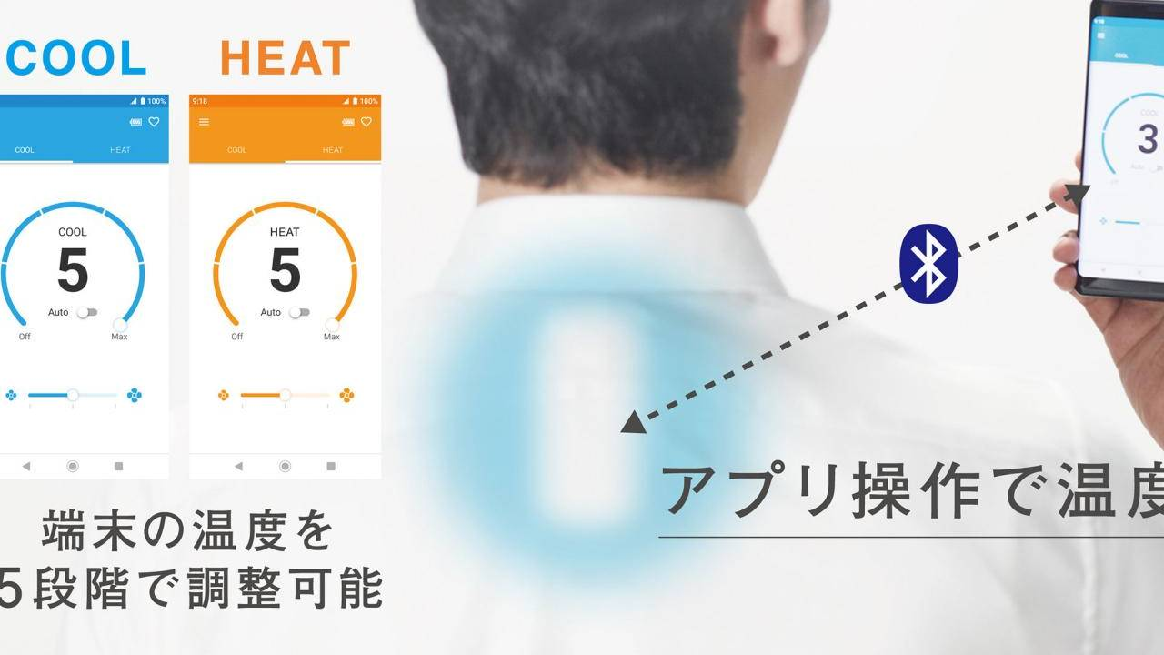 Sony Reon Pocket is a crowdfunded wearable air conditioner and heater