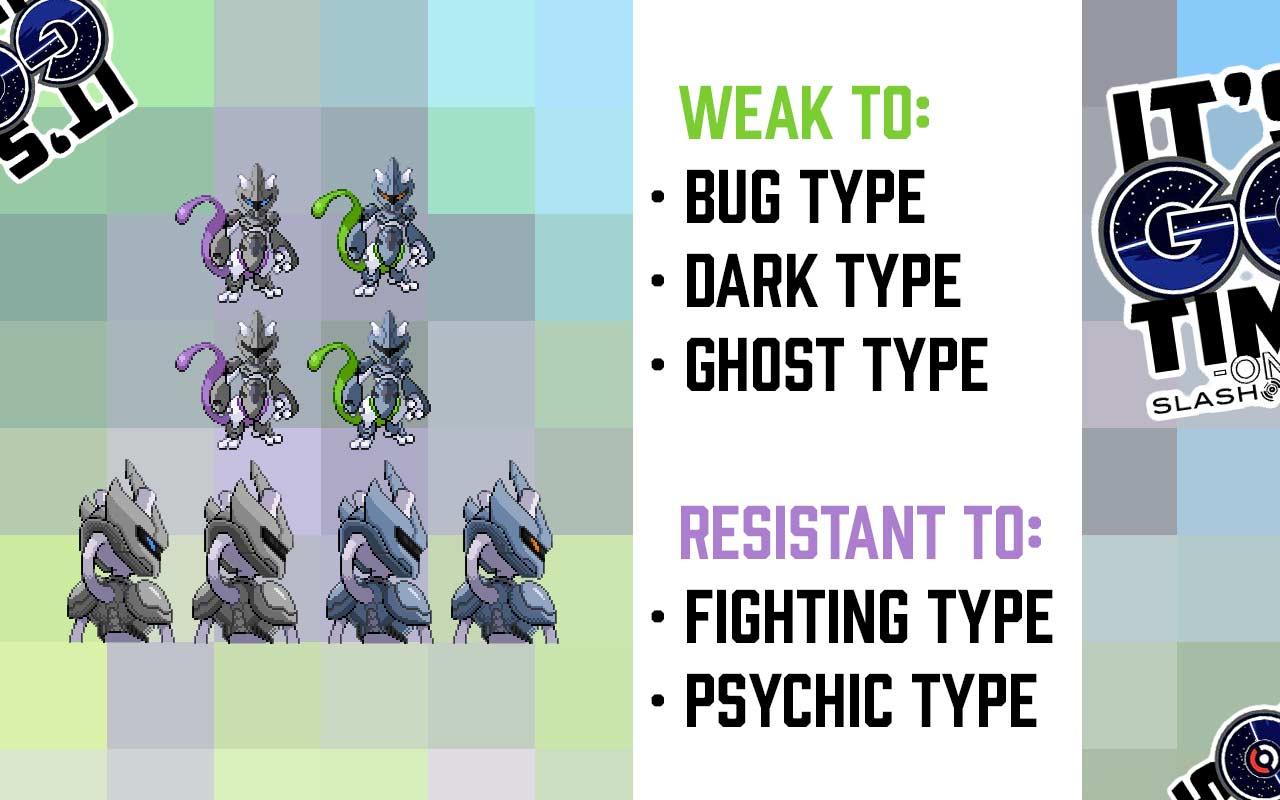 Pokemon GO Armored Mewtwo weakness details leaked - SlashGear