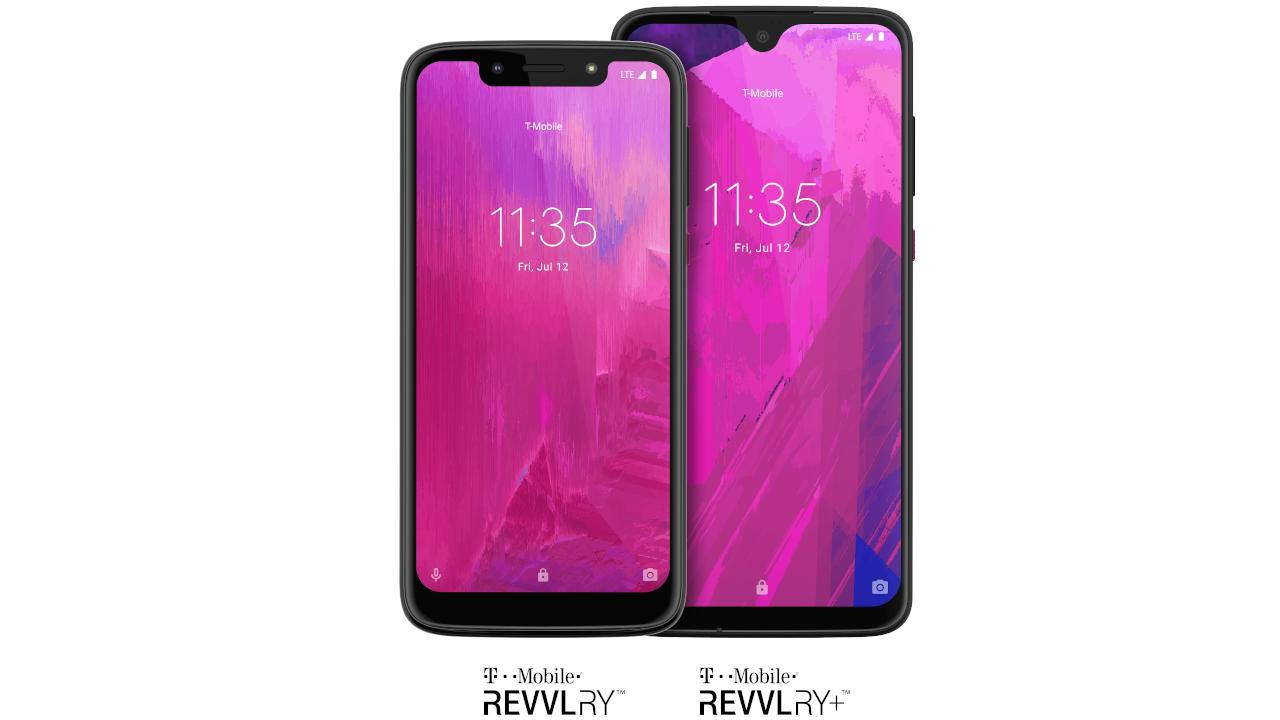 REVVLRY and REVVLRY+ continue T-Mobile's line of budget phones