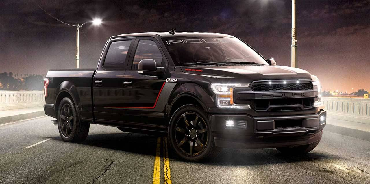 Supercharged Roush Nitemare F-150 trucks are the fastest accelerating