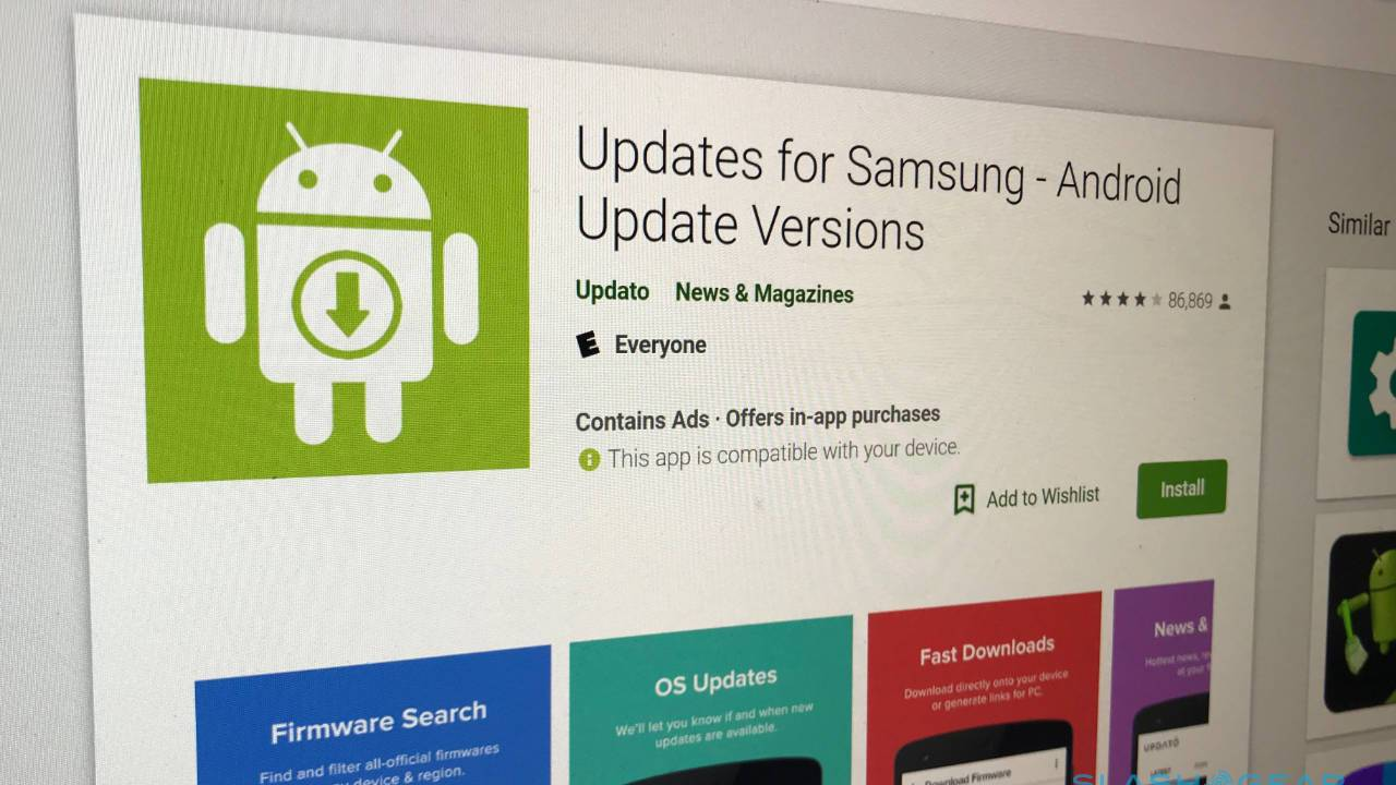 Fake Samsung app with 10 million downloads charges for free firmware