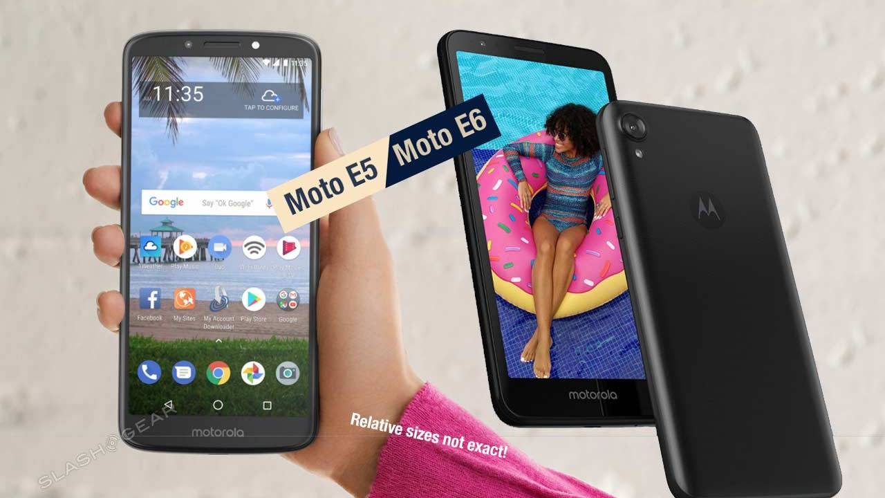 Moto E6 launches today, making E5 the better value