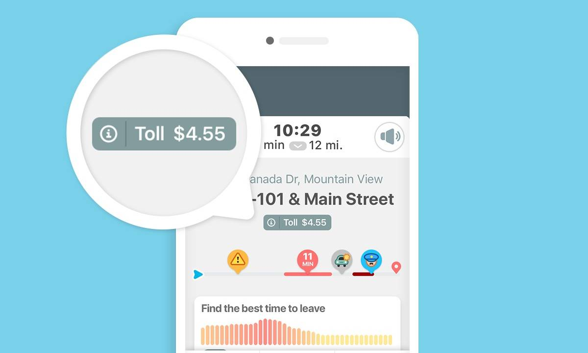 Waze toll prices use crowd power to add up the cost of your trip