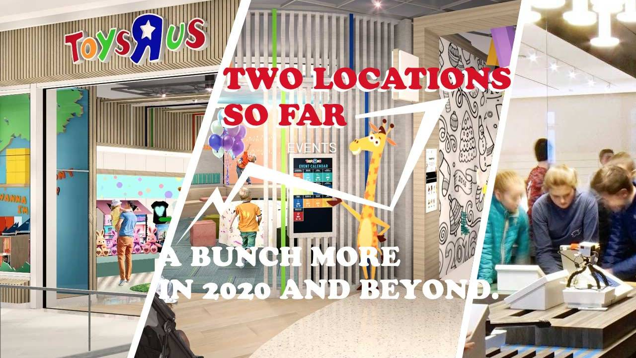 Toys R Us re-opens with the future of retail in play