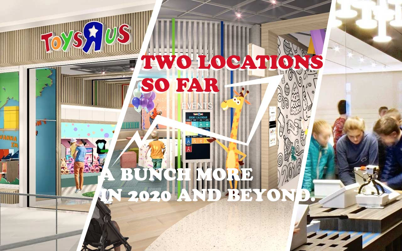 Toys R Us Re Opens With The Future Of