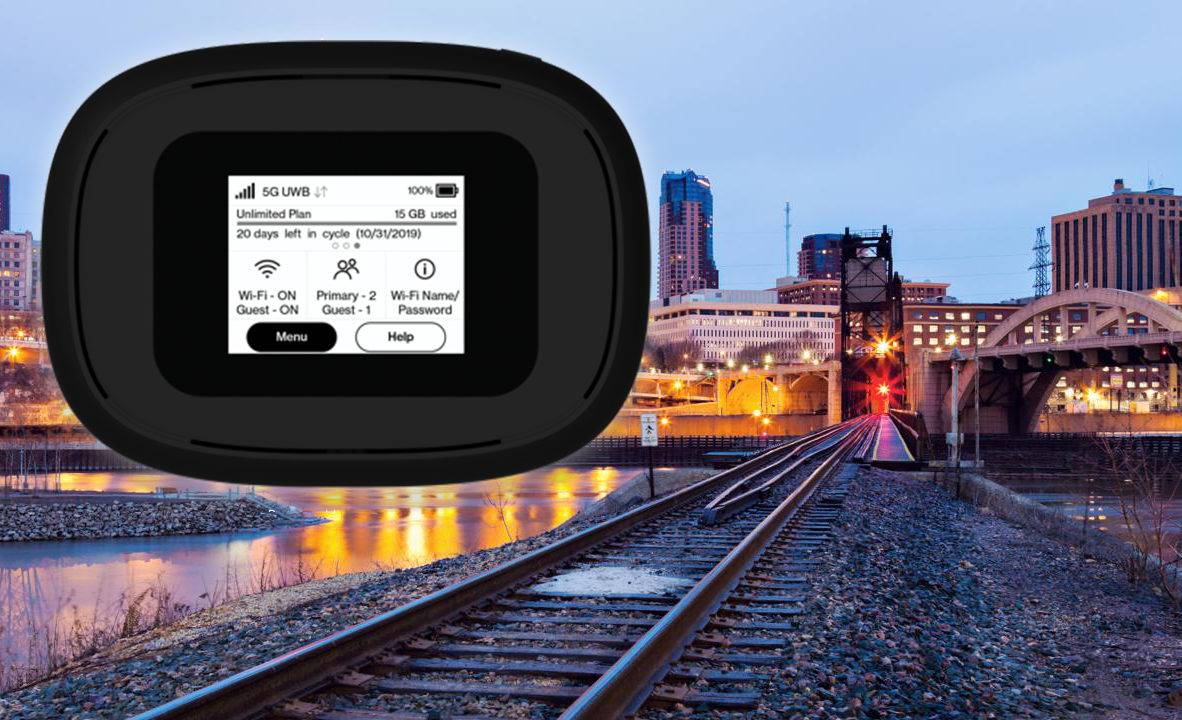 Verizon's first 5G MiFi mobile hotspot shares the next-gen network