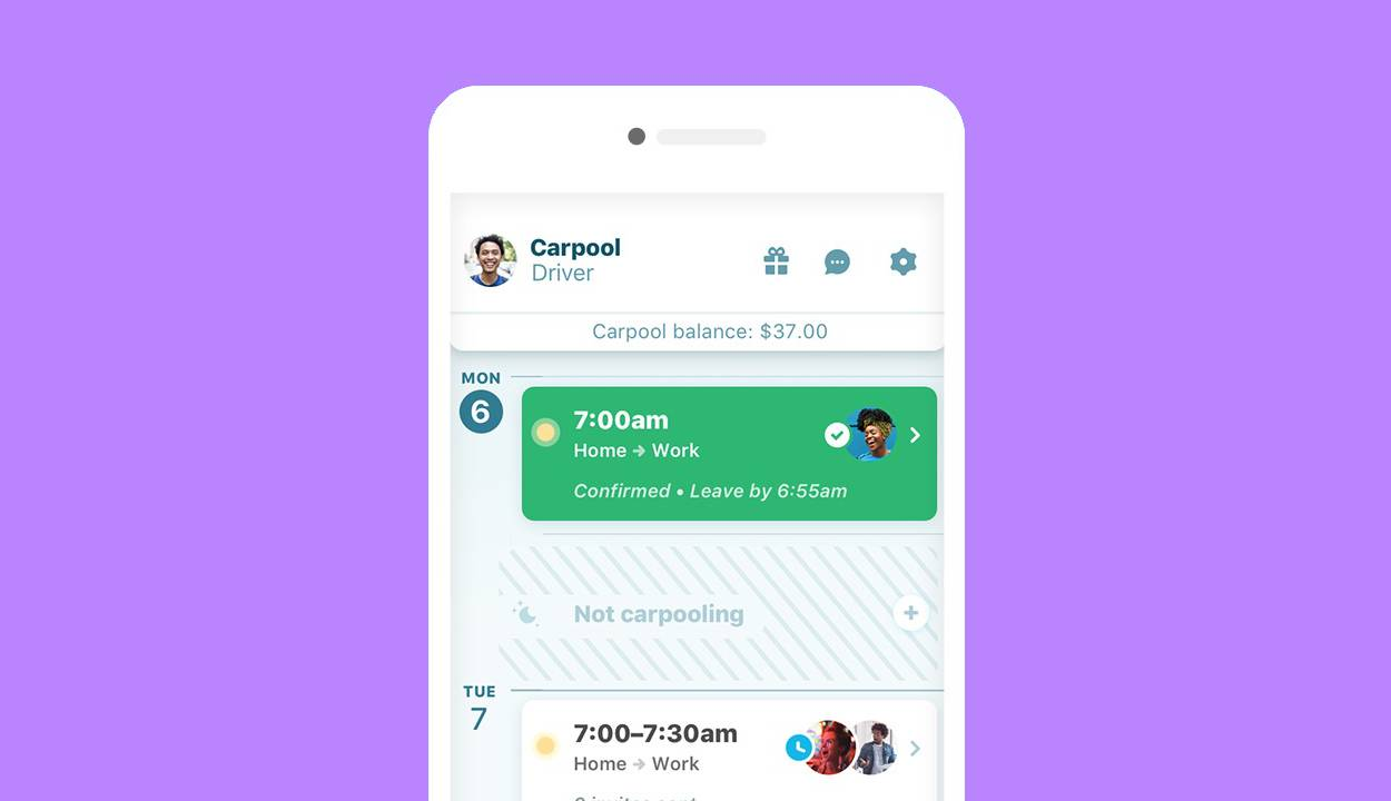Waze Carpool calendar makes dumping Uber & Lyft even easier