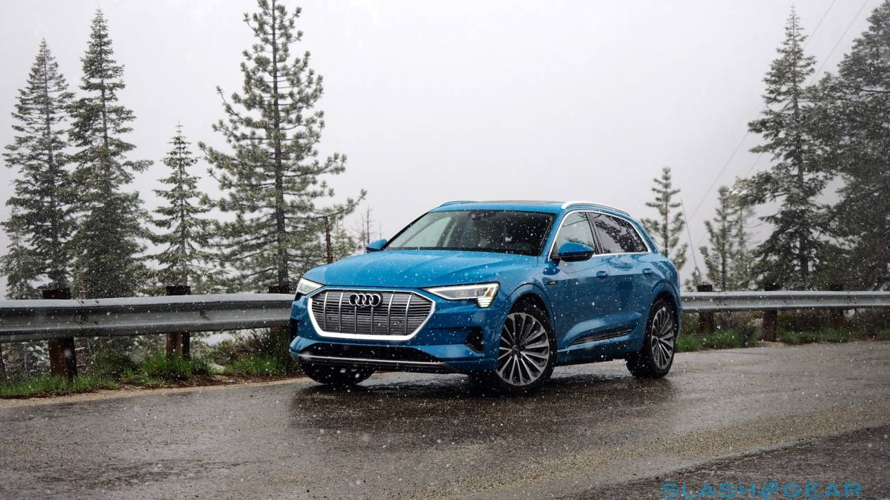 Audi's e-tron SUV just scooped Tesla to a top EV safety award