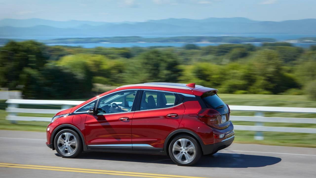 2020 Chevrolet Bolt EV range increases over entry Model 3