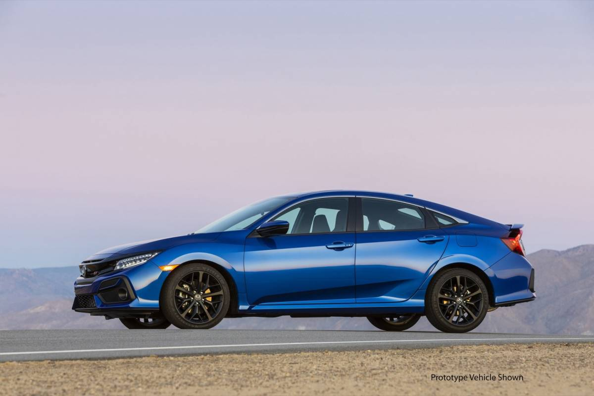 2020 Honda Civic Si sharpens style, acceleration and tech ...