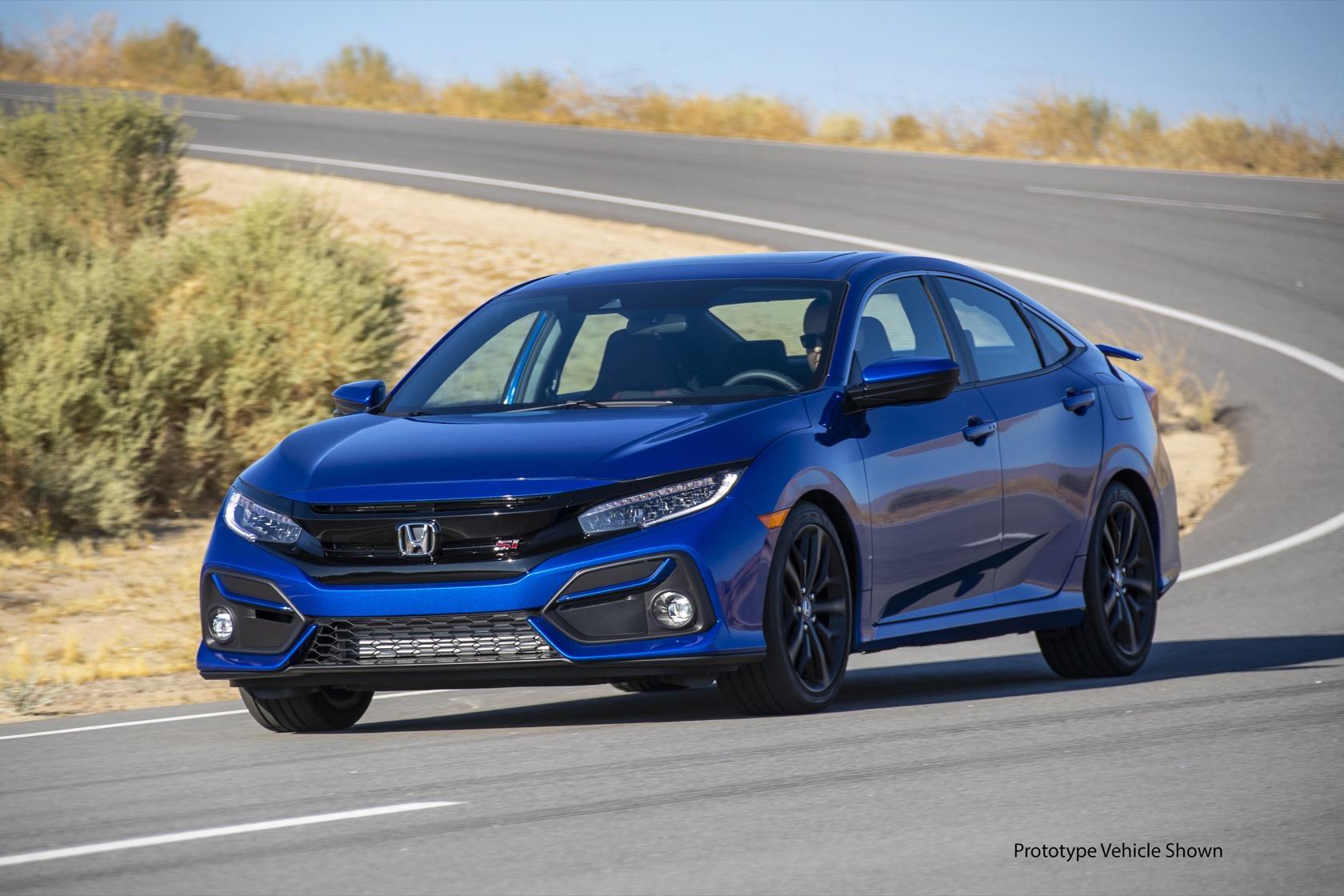 2020 Honda Civic Si Gallery - SlashGear