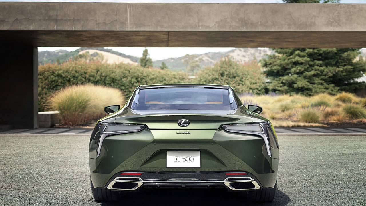 2020 Lexus LC 500 Inspiration Series is limited to 100 units